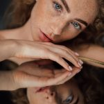 The Magical Red Curls Of a Freckled Russian Beauty